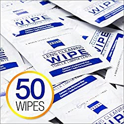 Zeiss Pre-Moistened Lens Cloths Wipes 50ct