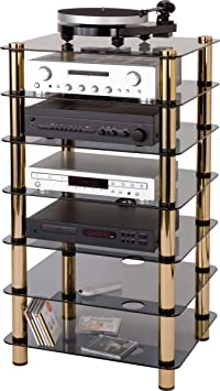 Optimum Prelude Seven Shelf Hifi Stand