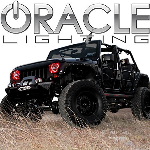 oracle-lighting-je-rr0713p-r-jeep-wrangler-plasma-halo-headlight-rings-red-by-oracle-lighting