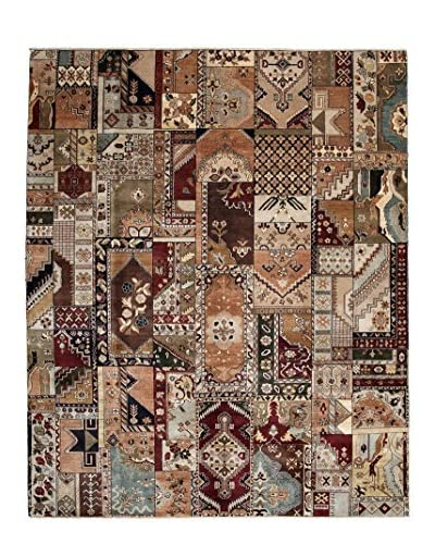 Darya Rugs Traditional Hand-Knotted Rug, Brown, 8' 2 x 10'