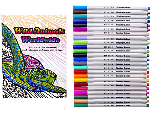 Fineliner-Pens-Set-Exclusive-Adult-Coloring-Book-Beautiful-Colors-Fine-Felt-Tip-Markers-for-Drawing-Details-Coloring-Books-and-More