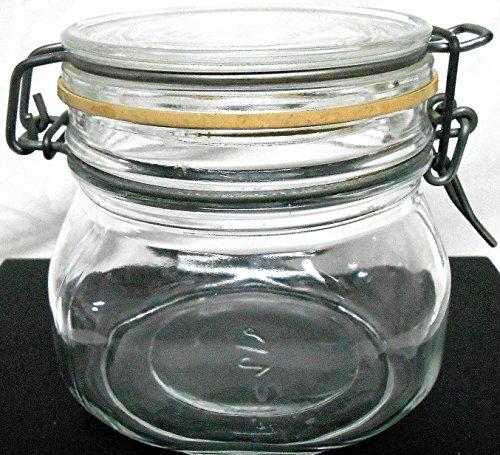 Wire Bale Jar - 1/2 Liter - 4-1/4