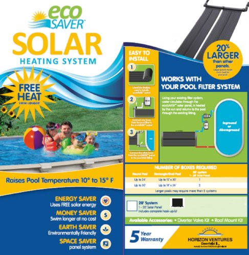 solar pool heater review