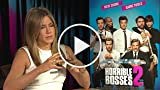 Horrible Bosses 2: Jennifer Aniston Interview Part 2