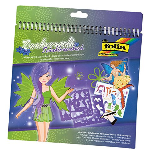 Folia 41201 - Schablonenbuch Zauberwelt