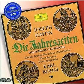 """Haydn: Die Jahreszeiten - Hob. XXI:3 / Der Winter - No.37 Rez.: """"Vom d�rren Osten dringt"""""""
