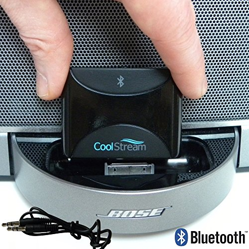 CoolStream Duo. Bluetooth Adapter / Bluetooth Receiver; accessories for iPhone, Samsung, Nokia, HTC, LG, Motorola; for Music Docking Stations, Motorcycles, Car Stereos primary