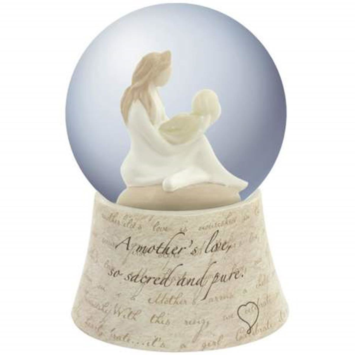 A Mother's Love Musical Water Globe