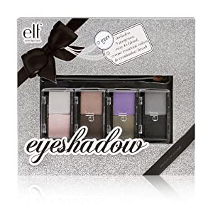 e.l.f Duo Eye Shadow Makeup Set, Holiday Edition, 5.6 Ounce (Pack of 2)