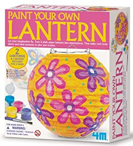 4M Paint Your Own Lantern