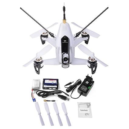 XCSOURCE Walkera Rodeo 150 Aérobatique 40 canaux 5.8GHz Mini FPV Racing Drone BNF 600TVL Caméra de Vision Nocturne Blanc Prise UE RC267