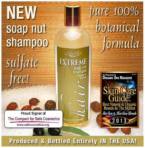 Naturoli Soap Nut Soapberry Shampoo Oz Organic Natural Hair Care