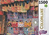 Colorluxe 1500 Piece Puzzle - Colorful Handmade Mayan Textiles