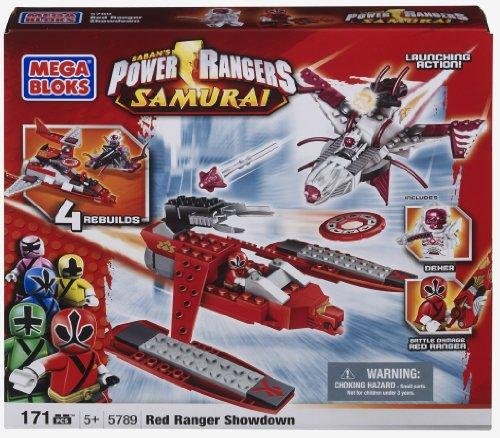 Power Ranger Red Ranger Showdown (Red Ranger vs. Dekker) (Power Ranger Legos For Boys compare prices)