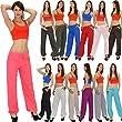 Damen Hose Leinenhose Pumphose Damen Sommerhose - �ber 10 aktuelle Farben H02
