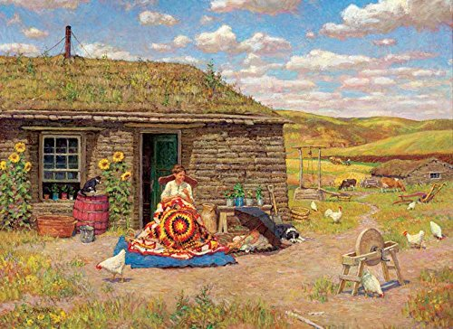 Prairie Star a 500-Piece Jigsaw Puzzle by Sunsout Inc.