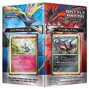 Pokémon TCG Battle Arena Decks: Xerneas vs Yveltal Card Set