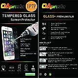 OAproda iPhone 7plus強化ガラス 液晶保護フィルム 日本製素材旭硝子製 AGC 防爆裂 2.5D touch 硬度9H 0.3MM 5.5 inch気泡レス 耐指紋 撥油性 99%高透過率 耐衝撃 飛散防止処理