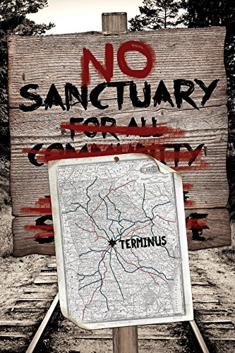 No Sanctuary at Terminus Poster, inspired by The Walking Dead (91 x 61 cm)