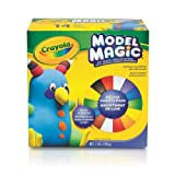 Crayola Model Magic, Deluxe Craft Pack, Clay Alternative, Gift for Kids, 14 Single Pack (Color: Assorted Color, Tamaño: 7 oz)