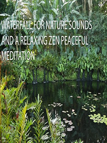Waterfall for Nature Sounds and a Relaxing Zen Peaceful Meditation