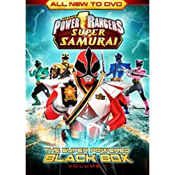 Power Rangers Super Samurai: Super Powered Black Box (Vol.1) DVD