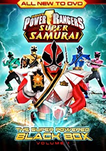 Power Rangers Super Samurai: Super Powered Black Box (Vol.1) DVD
