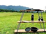 IRON REG LADDER IRL - 01 キャンプ アイアンレッグラダー/ W STANDARDインダストリアル / 店舗什器ディスプレイラック …