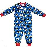 Onesies - Childrens Boys and Girls Long Sleeve Character Pyjamas Pjs Onesie- Age 1 - 10 years Angry Birds Superman Skylanders Peppa Pig Minnie mouse MICKEY 4-5