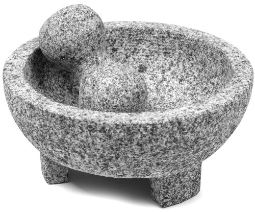 IMUSA USA Granite Molcajete Spice Grinder, 8-Inch, Gray (Bowl Grinder compare prices)