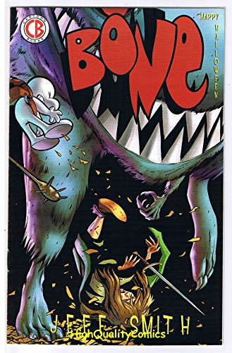 BONE HALLOWEEN, Promo, ashcan, Jeff Smith, 2008, NM (Kirby Halloween compare prices)
