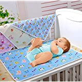 "Bumud Baby & Toddler Waterproof Washable Diaper Changing Mat Pad (60x75cm/23.6""x29.5"")"