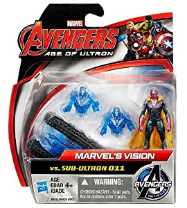 Marvel Avengers Age of Ultron Marvel's vision figure vs.SUB-Ultron 011