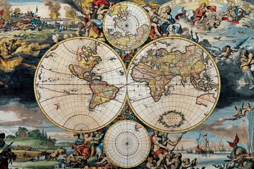 Antique-Map-1500pc-Jigsaw-Puzzle