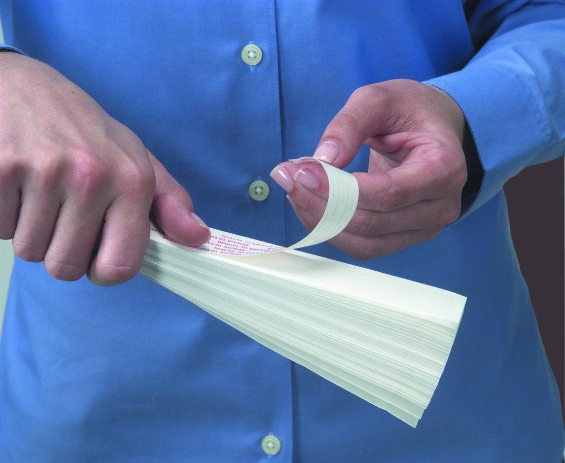 Quick Fix Redi Shade Adhesive White Fabric Window Shade