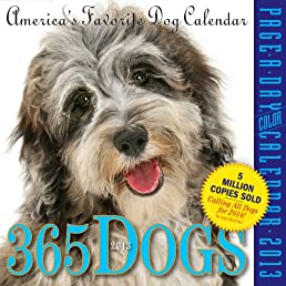 365 Dogs 2013 Page-A-Day Calendar