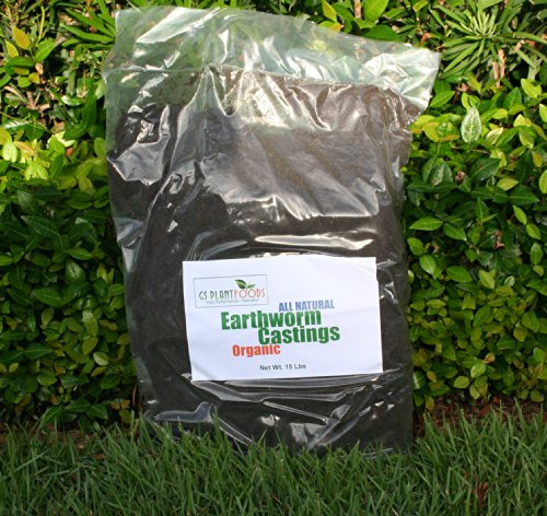 All Natural Organic Earthworm Castings- 10 Lbs