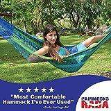 Hammocks Rada- Handmade Yucatan Hammock - Matrimonial Size Caribbean Breeze Multicolor - True Comfort, True Quality, World's Best Handmade Hammock- 100% No-Hassle Satisfaction Guarantee