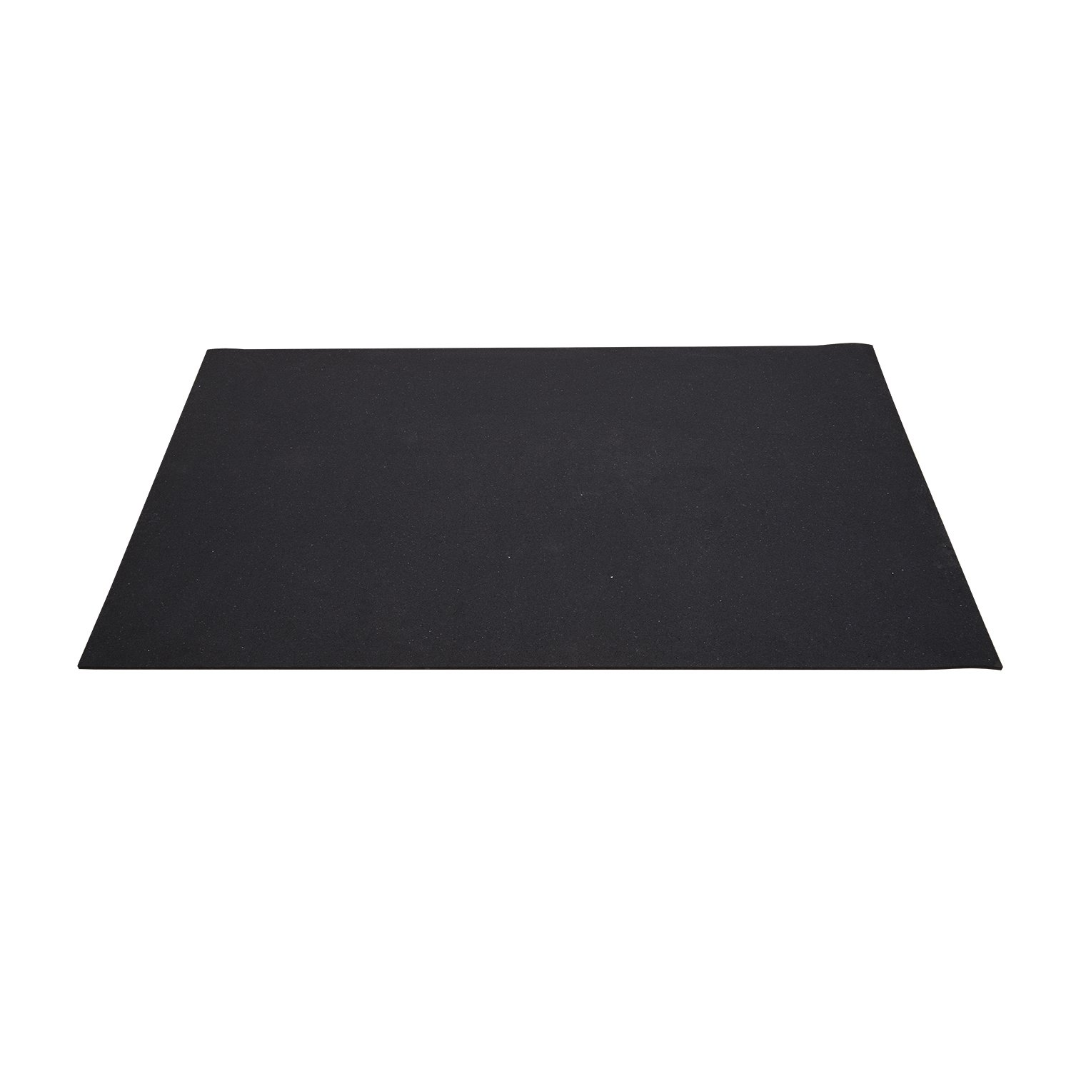 Soozier 6' Rubber Exercise Gym Floor Fitness Equipment Protection Mat - Black at Sears.com