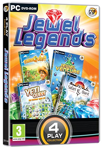 4 Play: Jewel Legends (farm Questjewel Ventureyeti Questsafari Quest)...