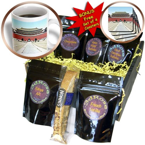 Boehm Photography Landscape - Forbidden City Meridian Gate Approach - Coffee Gift Baskets - Coffee Gift Basket (Meridian City)