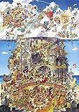 Heye 29118 - Heaven Hell, Hugo Prades, Puzzle triangolare 1500 pezzi