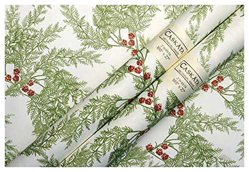 Caskata Studio Gift Wrap, Cedar Berries (CAS14510)
