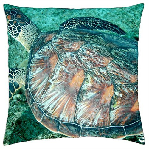 turtle-swims-in-ocean-in-south-pacific-bora-bora-throw-pillow-cover-case-18