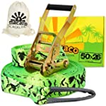 Macaco Slackline 26m Long (50mm Wide)...