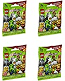 LEGO, Minifigures Series 13 Bundle Set of 4 [Styles May Vary]