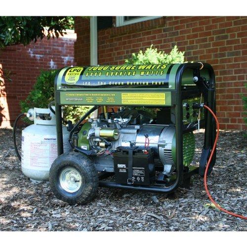 Sportsman Sportsman GEN7000LPC 7000 Watt  LP Generator