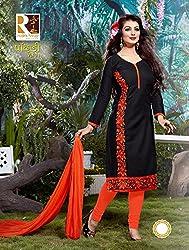 Leranath Fashion House Women'S Aesha Takiya Black Color Dress