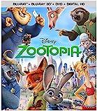 Zootopia (3D/BD/DVD/Digital HD) [Blu-ray]