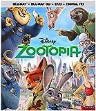 Zootopia (Blu-ray 3D + Blu-ray + DVD + Digital HD) - June 7